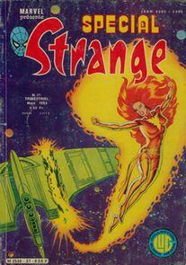 Spécial Strange 31 des éditions Lug