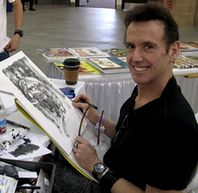 Le dessinateur Bill Sienkiewicz
