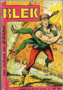 Le 1er numéro du petit format Blek des éditions Lug