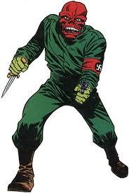 Red Skull (Crâne Rouge), l`ennemi de Captain America.