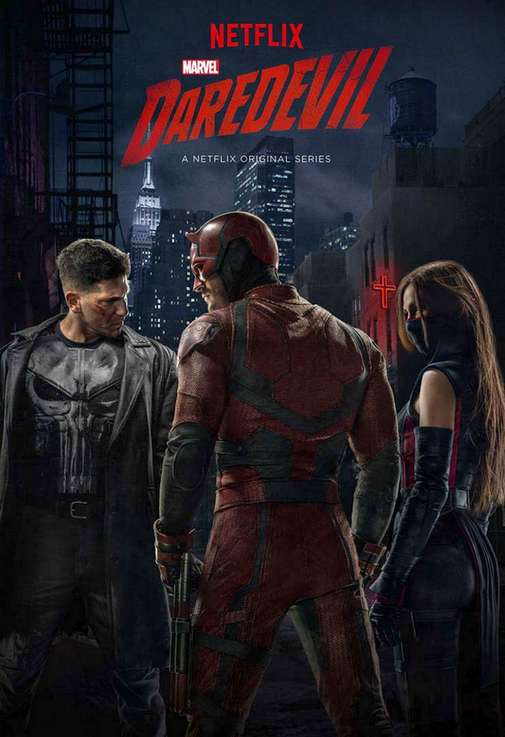 La série Daredevil de Marvel