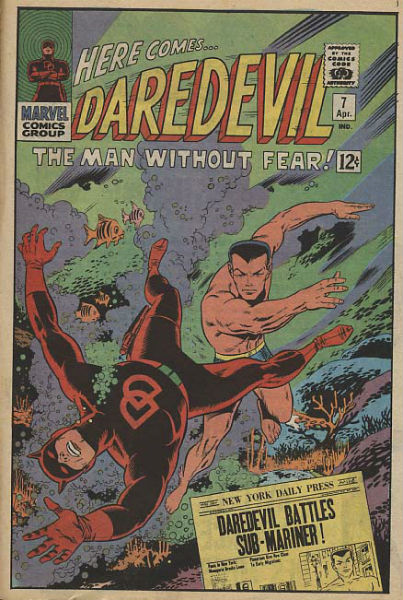 Daredevil contre Namor
