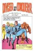 Les 4 Fantastiques par Stan Lee et Jack Kirby