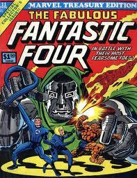 Marvel Treasury Edition avec les Quatre Fantastiques