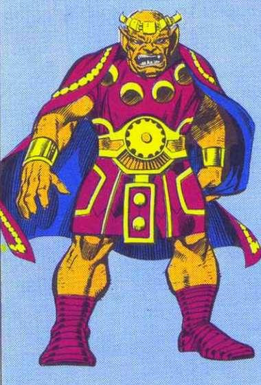 Geirrodur, roi des Trolls d'Asgard
