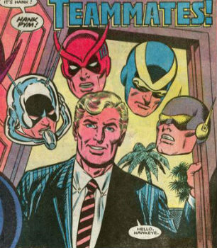 Hank Pym alias Ant-Man, Goliath, Pourpoint Jaune et Giant-Man