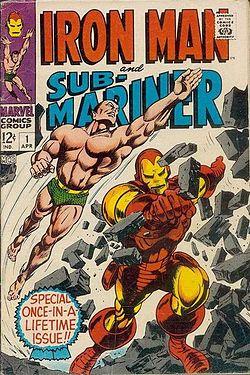 Iron Man contre le Submariner