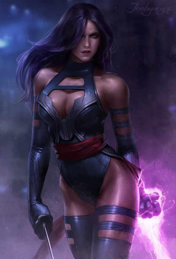 Psylocke alias Elisabeth Braddock