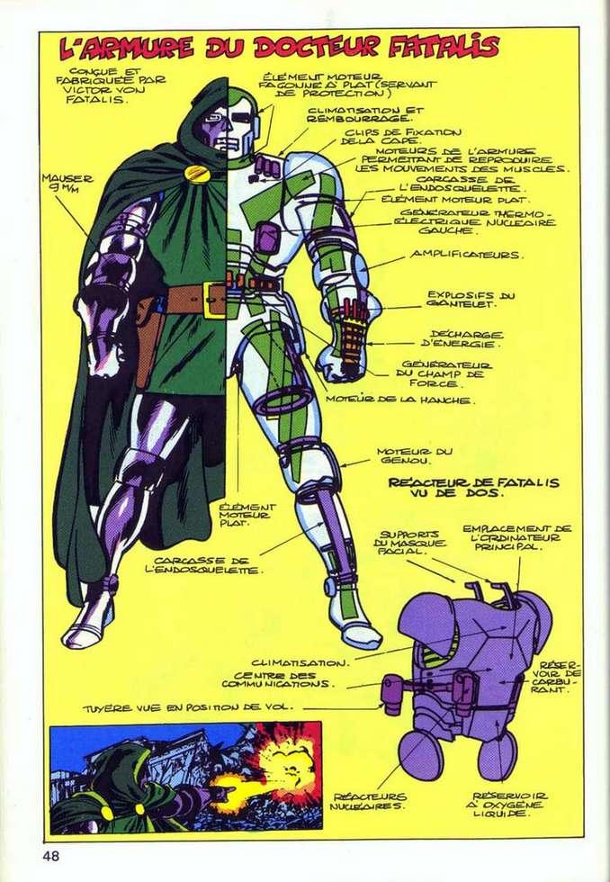 L'armure du Docteur Fatalis