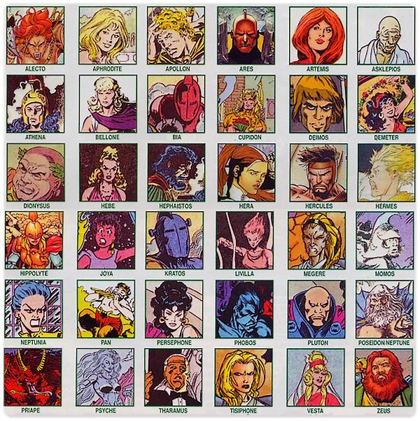 Les Olympiens de Marvel