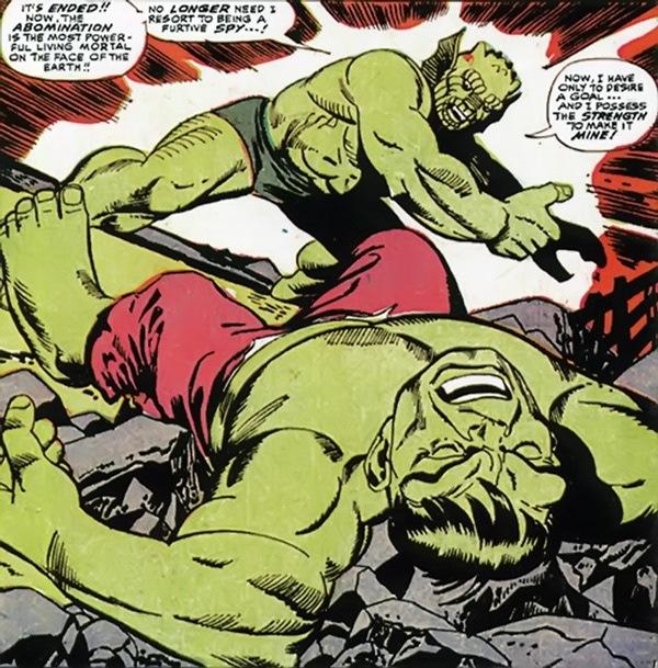 L'Abomination contre Hulk