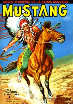 Petit format Mustang 1 des éditions Lug