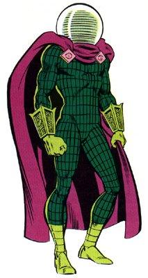 Le super-vilain Mysterio