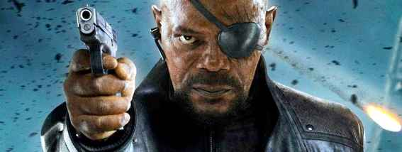 Nick Fury directeur du Shield