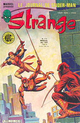 Strange 177 des éditions Lug