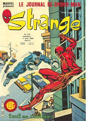 Strange 124 des éditions Lug