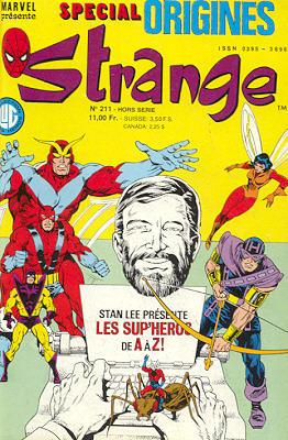 Strange Spécial Origines 211bis des éditions Lug