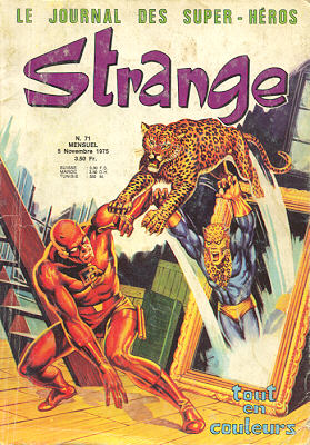 Strange 71 de Lug avec Daredevil, Captain Marvel, Iron Fist et Spider-Man
