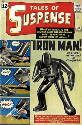 Tales of Suspense 39 avec Iron Man