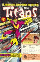 Titans 85 de Lug avec Star Wars, Mikros, Dazzler et les Nouveaux Mutants