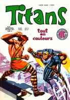 Titans 9 des éditions Lug