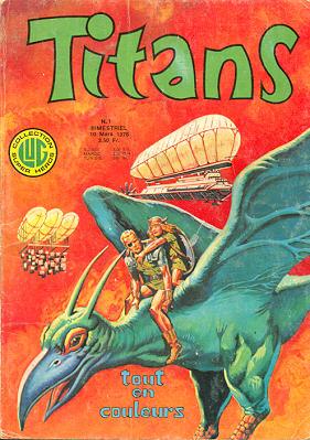 Titans 1 de Lug avec Wulf, le Phénix, le Justicier et la Planète Maudite