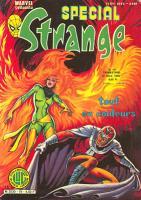 Spécial Strange 19 de Lug avec les X-Men, l'Araignée, la Torche, la Chose et Iron Fist
