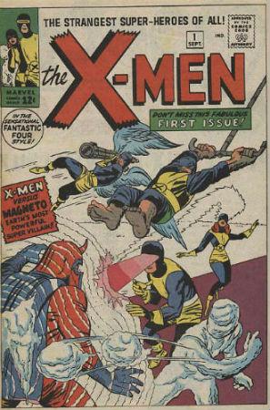 Le comics X-Men de Marvel
